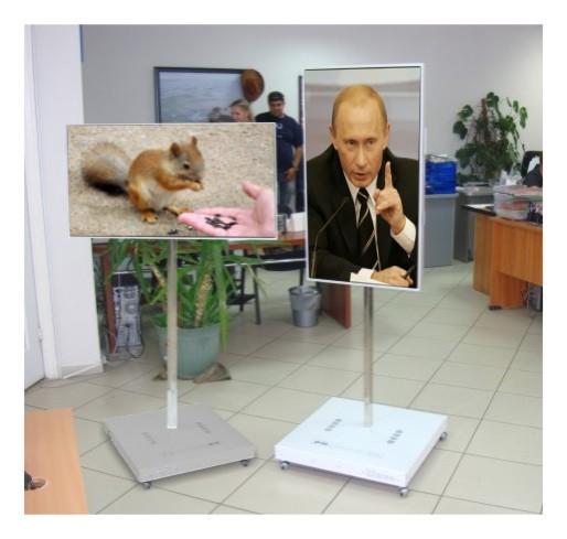 Мобильные видеостенды  - Купить в Краснодаре