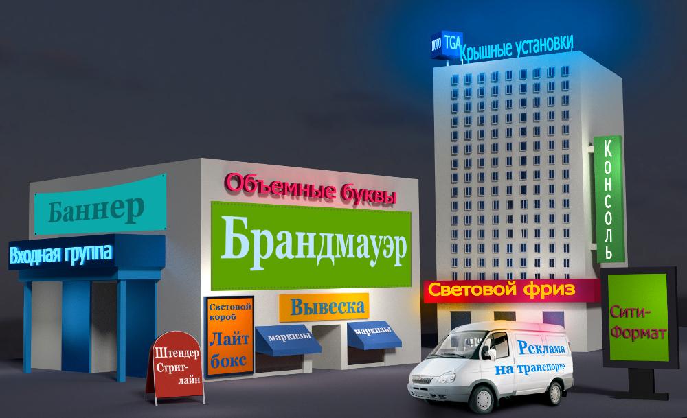 Наружная реклама Краснодар