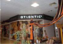 Магазин нижнего белья Atlantic. Световой короб