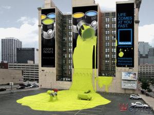 Краснодар РА, агентство наружной рекламы, печать баннеров, Световая реклама