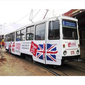 Брендирование трамваев