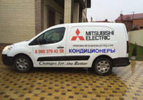 Брендирование авто, реклама на авто, Краснодар